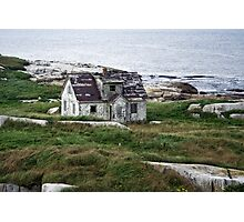 Abandoned By The Sea Photographic Print