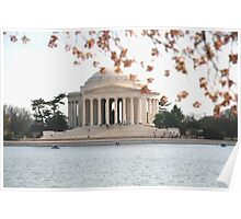 DC Spring - the Jefferson Memorial Poster