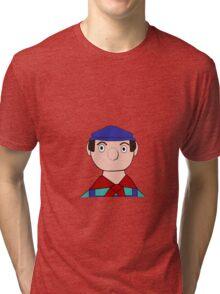 Mr Crockett the Garage Owner Tri-blend T-Shirt