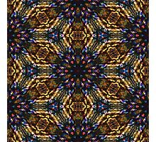 Synthetic pattern Photographic Print