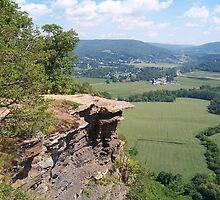 Cliffs of Vroman's Nose by Dandelion Dilluvio