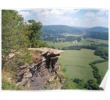 Cliffs of Vroman's Nose Poster