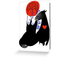 wolfstar Greeting Card