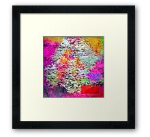 The secret of my flower Framed Print
