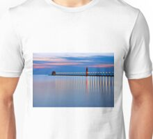 Grand Haven Michigan Pier Lights at Night Unisex T-Shirt