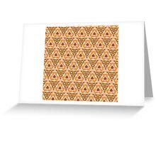 Triangle frenzy  Greeting Card