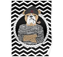 Sailor Dog Poster