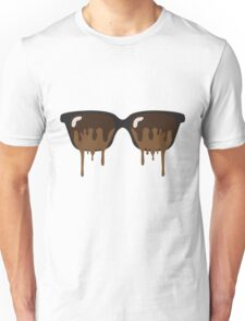 Sunglass Icecream Brown Unisex T-Shirt