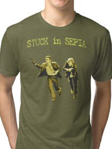Stuck in Sepia Tri-blend T-Shirt