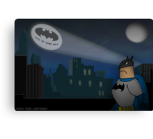 Don't forget the Batphone Canvas Print