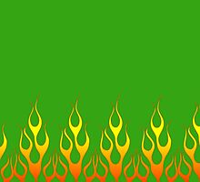 Green Flames by Gypsykiss