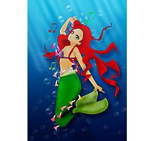 Ariel: Under the Sea Photographic Print