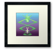Magic Circle: Spike Framed Print