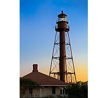 Sanibel Island Lighthouse Daybreak Photographic Print