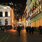 Colonial Quito by Sue  Cullumber