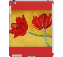 Tulips with Love, Happy Together  iPad Case/Skin