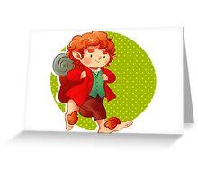 Bilbo 1 Greeting Card