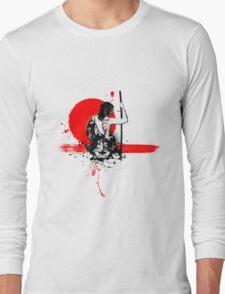 Trash Polka - Female Samurai Long Sleeve T-Shirt