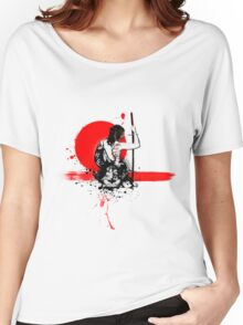 Trash Polka - Female Samurai Women's Relaxed Fit T-Shirt