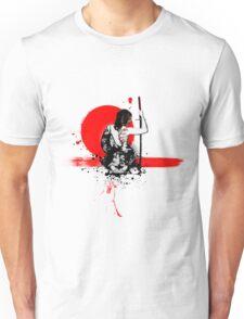 Trash Polka - Female Samurai Unisex T-Shirt