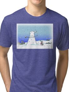 Snow Globes Tri-blend T-Shirt