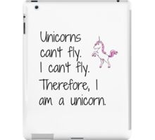 Unicorn design iPad Case/Skin