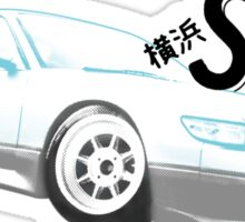 Classic Two Tone S13 - Halftone Sticker