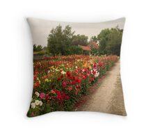 Dutch flowers Throw Pillow