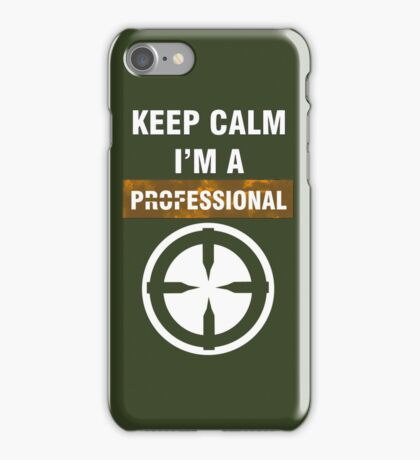 Keep Calm - I'm A Professional iPhone Case/Skin