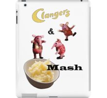 Clangers and Mash iPad Case/Skin