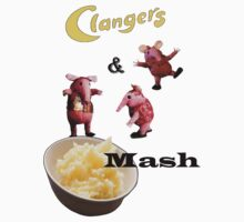 Clangers and Mash T-Shirt