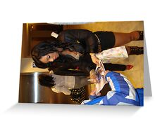 ASHANTI SIGNING AUTOGRAPHS FOR FANS Greeting Card