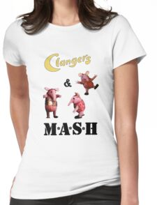 Clangers and M A S H Womens Fitted T-Shirt