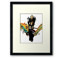 Brian Eno Roxy Music T-Shirt Framed Print