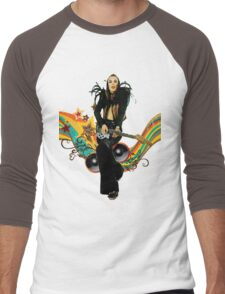 Brian Eno Roxy Music T-Shirt Men's Baseball ¾ T-Shirt