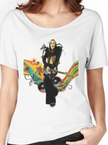 Brian Eno Roxy Music T-Shirt Women's Relaxed Fit T-Shirt