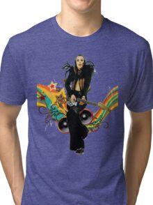 Brian Eno Roxy Music T-Shirt Tri-blend T-Shirt