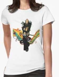 Brian Eno Roxy Music T-Shirt Womens Fitted T-Shirt