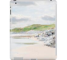 ballybunion beach beside the links golf course iPad Case/Skin