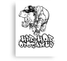 Hip Hop Opotamus Canvas Print