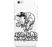 Hip Hop Opotamus iPhone Case/Skin