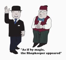 Mr Benn and the Shopkeeper by Grainwavez