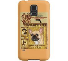 French Bulldog Art - Butch Cassidy and the Sundance Kid Movie Poster Samsung Galaxy Case/Skin