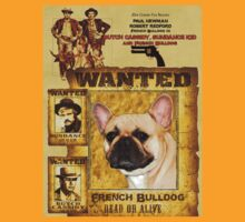 French Bulldog Art - Butch Cassidy and the Sundance Kid Movie Poster T-Shirt