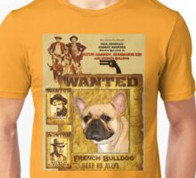 French Bulldog Art - Butch Cassidy and the Sundance Kid Movie Poster Unisex T-Shirt
