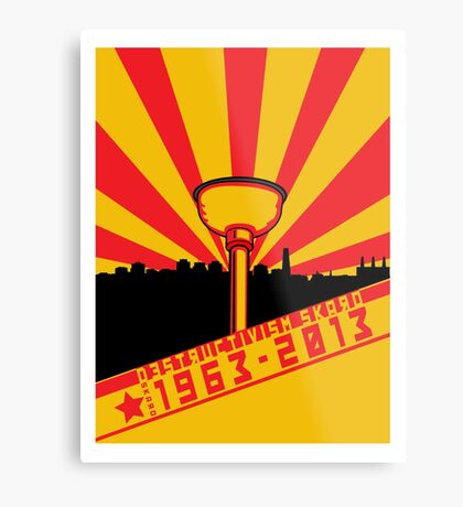 Dalek Destructivism Metal Print
