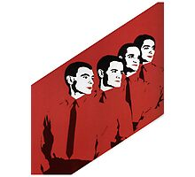 Kraftwerk Man Machine T-Shirt Photographic Print