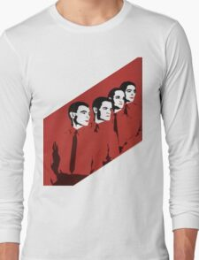 Kraftwerk Man Machine T-Shirt Long Sleeve T-Shirt