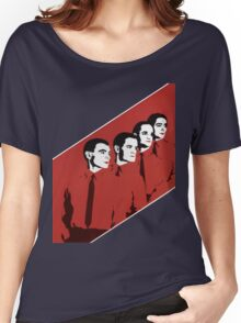 Kraftwerk Man Machine T-Shirt Women's Relaxed Fit T-Shirt