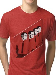 Kraftwerk Man Machine T-Shirt Tri-blend T-Shirt